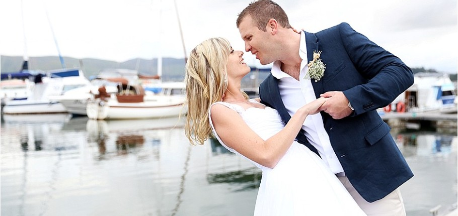 Russel & Kim's beautiful Knysna Wedding